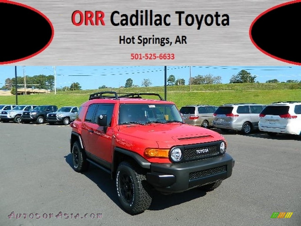 2012 toyota fj cruiser trail teams special edition 4wd in radiant red 142352 autos of asia. Black Bedroom Furniture Sets. Home Design Ideas