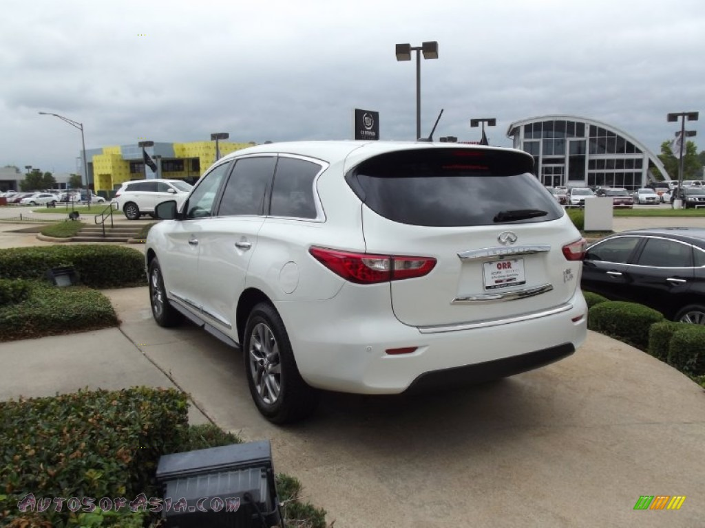 2013 infiniti jx 35 in moonlight white photo 3 318750 for Steve white motors inc
