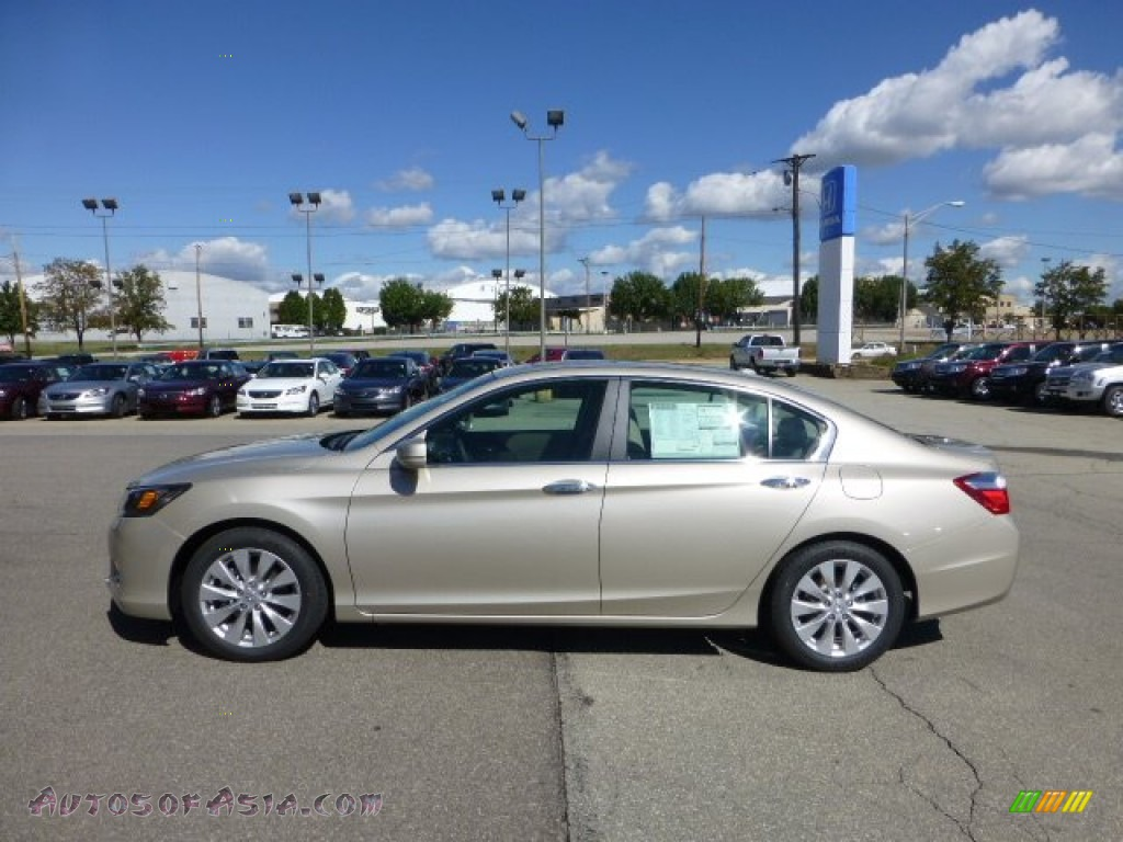 2013 Honda Accord Ex L Sedan In Champagne Frost Pearl 013535 Autos Of Asia Japanese And