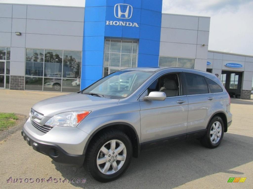 2008 Honda Cr V Ex L 4wd In Whistler Silver Metallic Photo