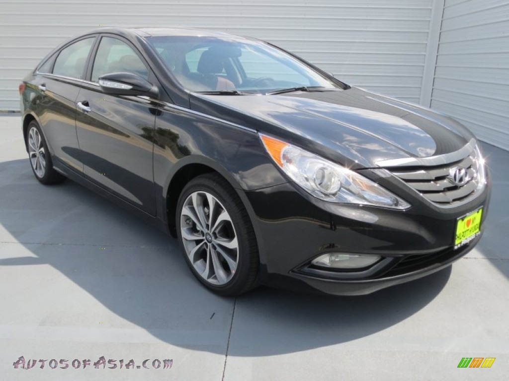 2013 hyundai sonata limited 2 0t in midnight black 596830 autos of asia japanese and. Black Bedroom Furniture Sets. Home Design Ideas