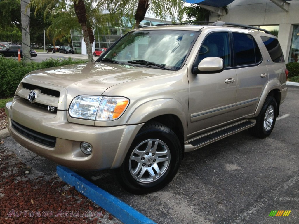 2007 toyota sequoia sr5 in desert sand mica 287689 autos of asia japanese and korean cars. Black Bedroom Furniture Sets. Home Design Ideas