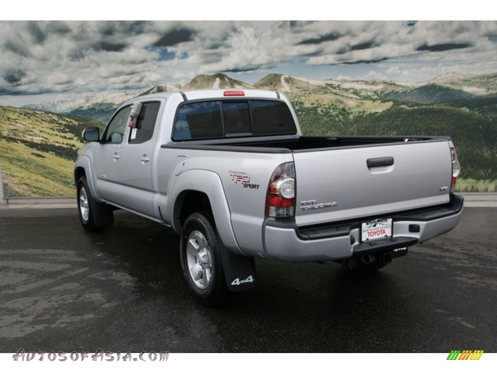 2013 toyota tacoma v6 trd sport double cab 4x4 in silver streak mica photo 2 050913 autos. Black Bedroom Furniture Sets. Home Design Ideas