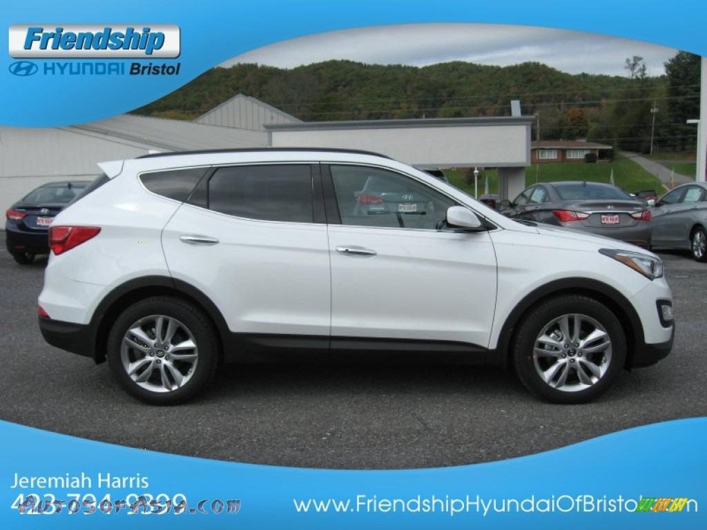 2013 Hyundai Santa Fe Sport 2 0t Awd In Frost White Pearl