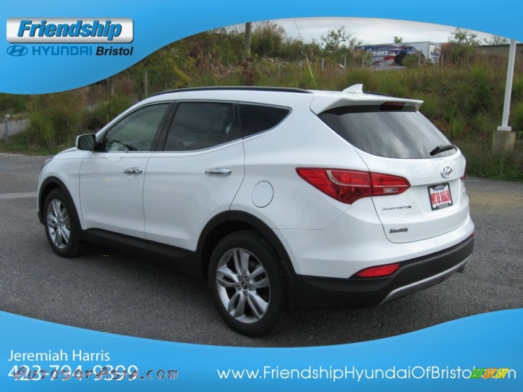 2013 hyundai santa fe sport 2 0t awd in frost white pearl. Black Bedroom Furniture Sets. Home Design Ideas