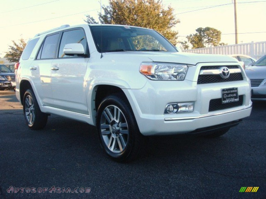 2011 toyota 4runner limited 4x4 in blizzard white pearl 068680 autos of asia japanese and. Black Bedroom Furniture Sets. Home Design Ideas