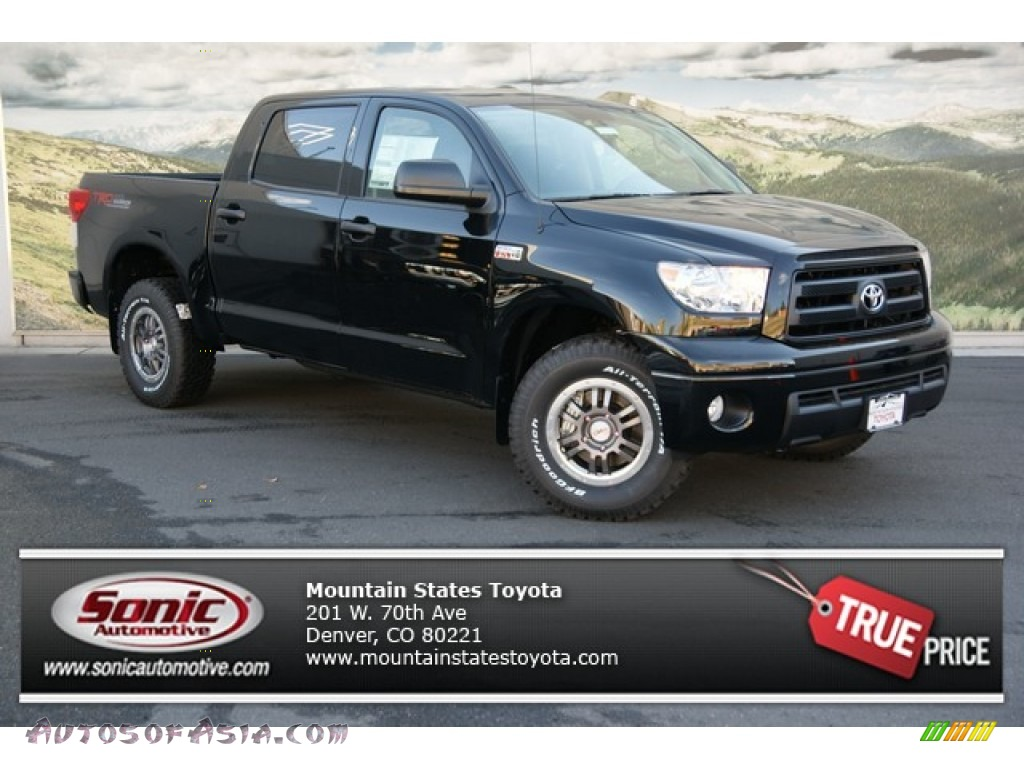 2013 toyota tundra trd rock warrior crewmax 4x4 in black 271839 autos of asia japanese and. Black Bedroom Furniture Sets. Home Design Ideas