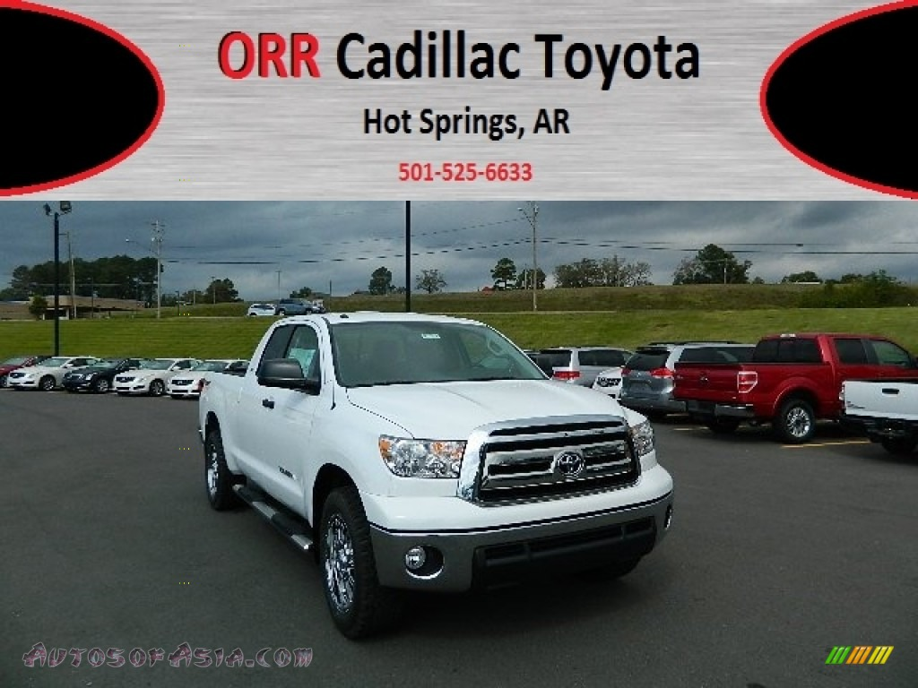 2013 toyota tundra tss double cab in super white 053507 autos of asia japanese and korean. Black Bedroom Furniture Sets. Home Design Ideas
