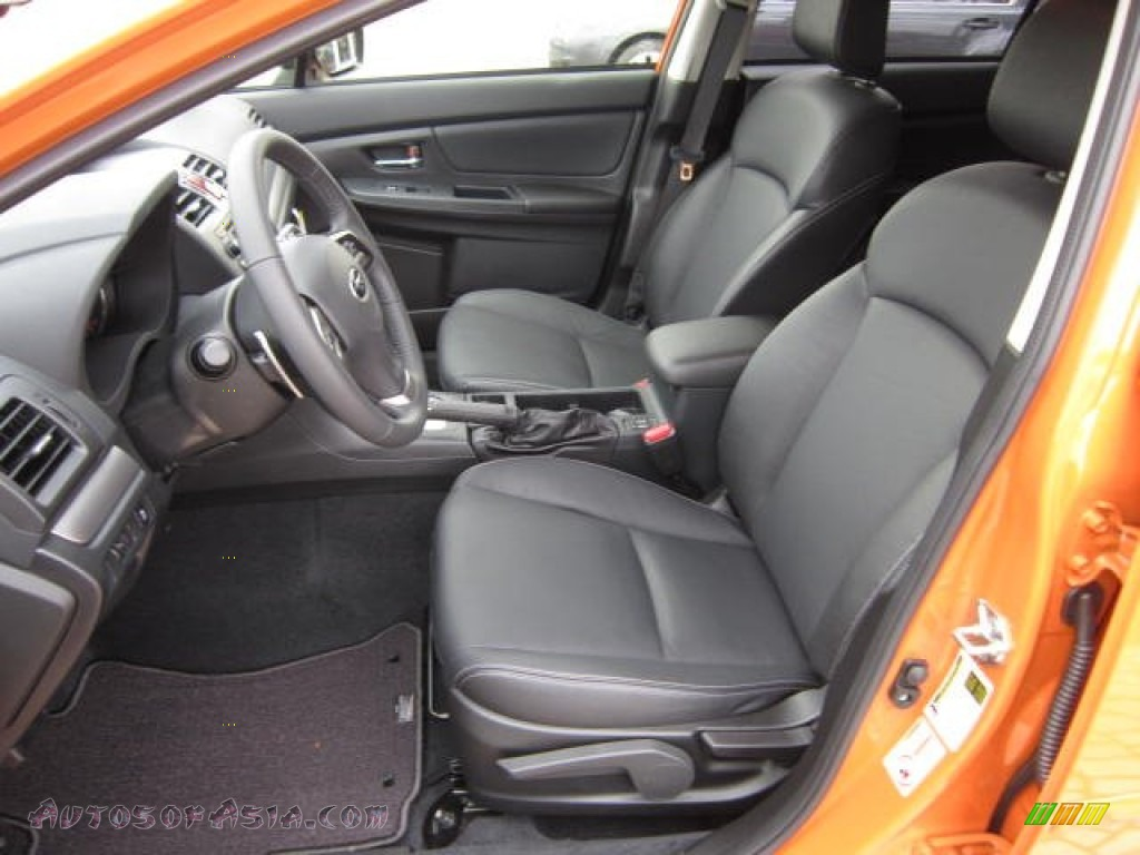 2013 Subaru Xv Crosstrek 2 0 Limited In Tangerine Orange Pearl Photo 15 206885 Autos Of
