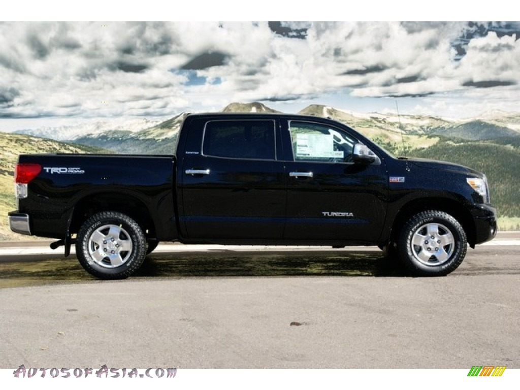 2013 toyota tundra limited crewmax 4x4 in black photo 2 275395 autos of asia japanese and. Black Bedroom Furniture Sets. Home Design Ideas