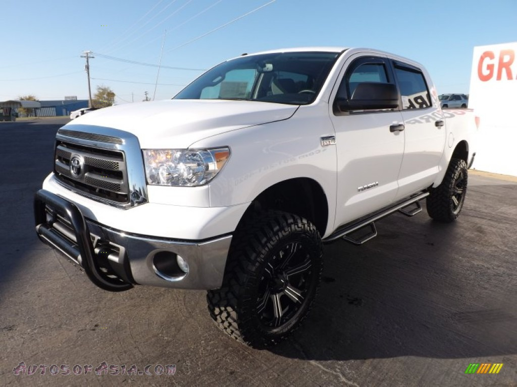 2013 toyota tundra sr5 crewmax 4x4 in super white photo 3 277647 autos of asia japanese. Black Bedroom Furniture Sets. Home Design Ideas