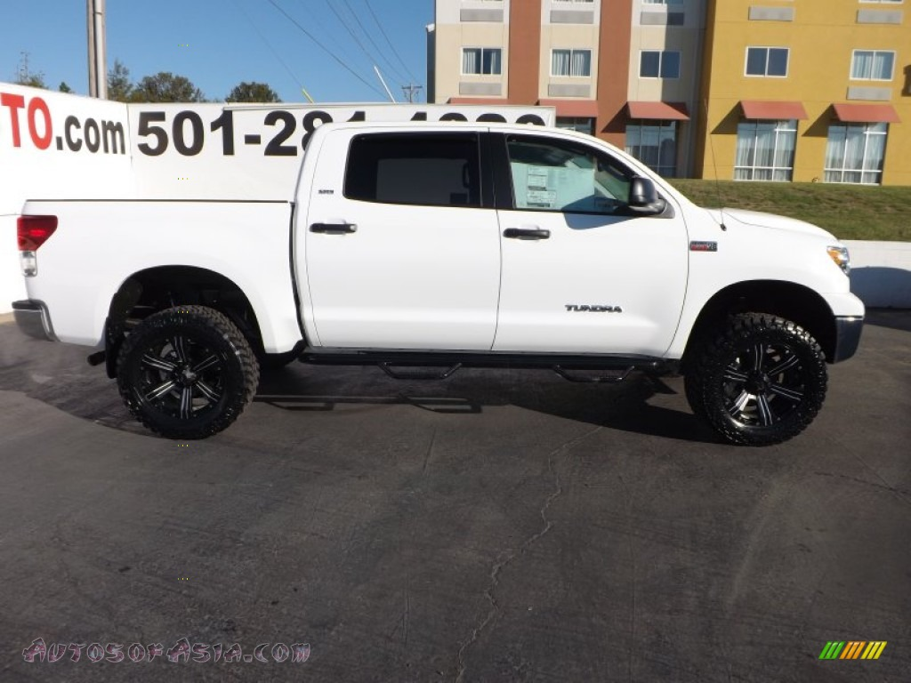 2013 toyota tundra sr5 crewmax 4x4 in super white photo 8 277647 autos of asia japanese. Black Bedroom Furniture Sets. Home Design Ideas