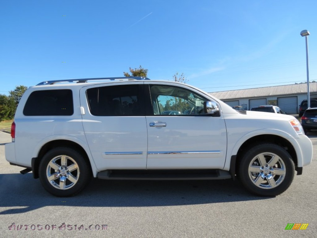 2012 nissan armada platinum in blizzard white photo 6 621842 autos of asia japanese and. Black Bedroom Furniture Sets. Home Design Ideas