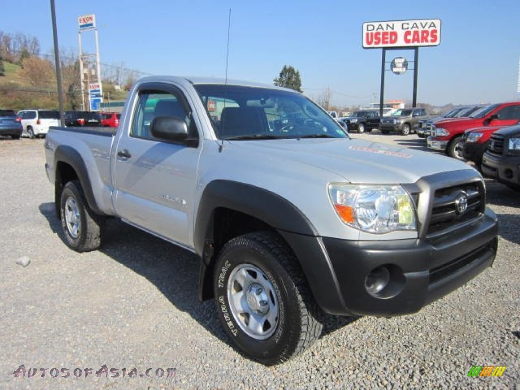 2005 toyota tacoma regular cab 4x4 in silver streak mica 094836 autos of asia japanese and. Black Bedroom Furniture Sets. Home Design Ideas