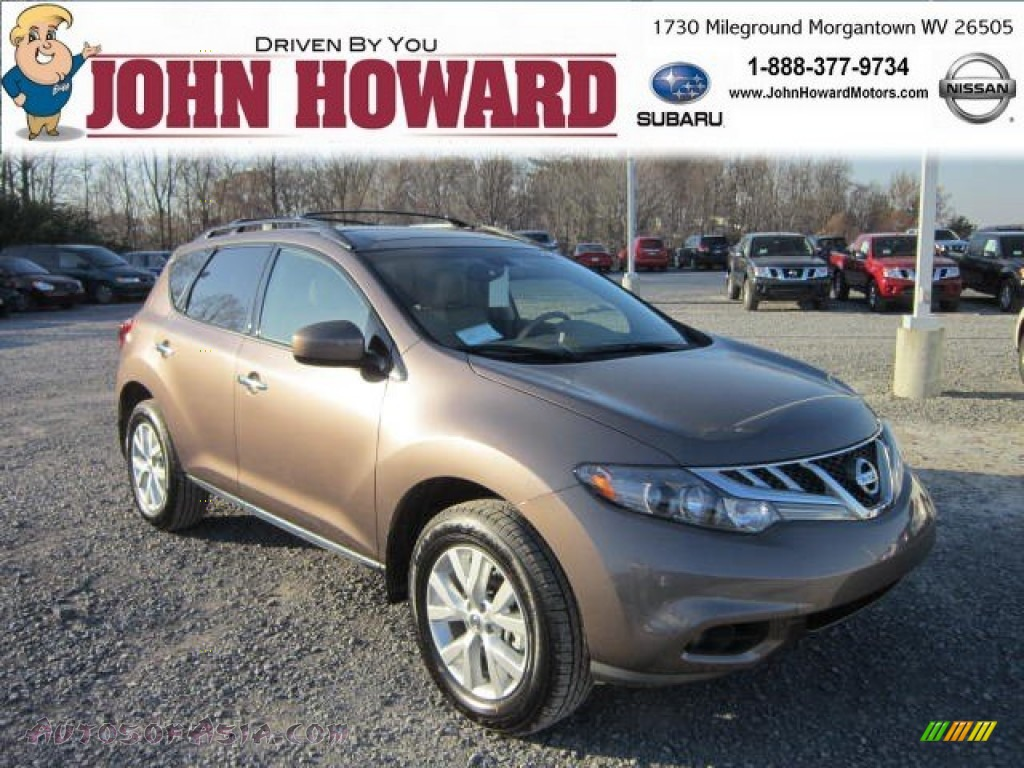 2013 Nissan Murano Sl Awd In Tinted Bronze Photo 4 300385 Autos Of Asia Japanese And