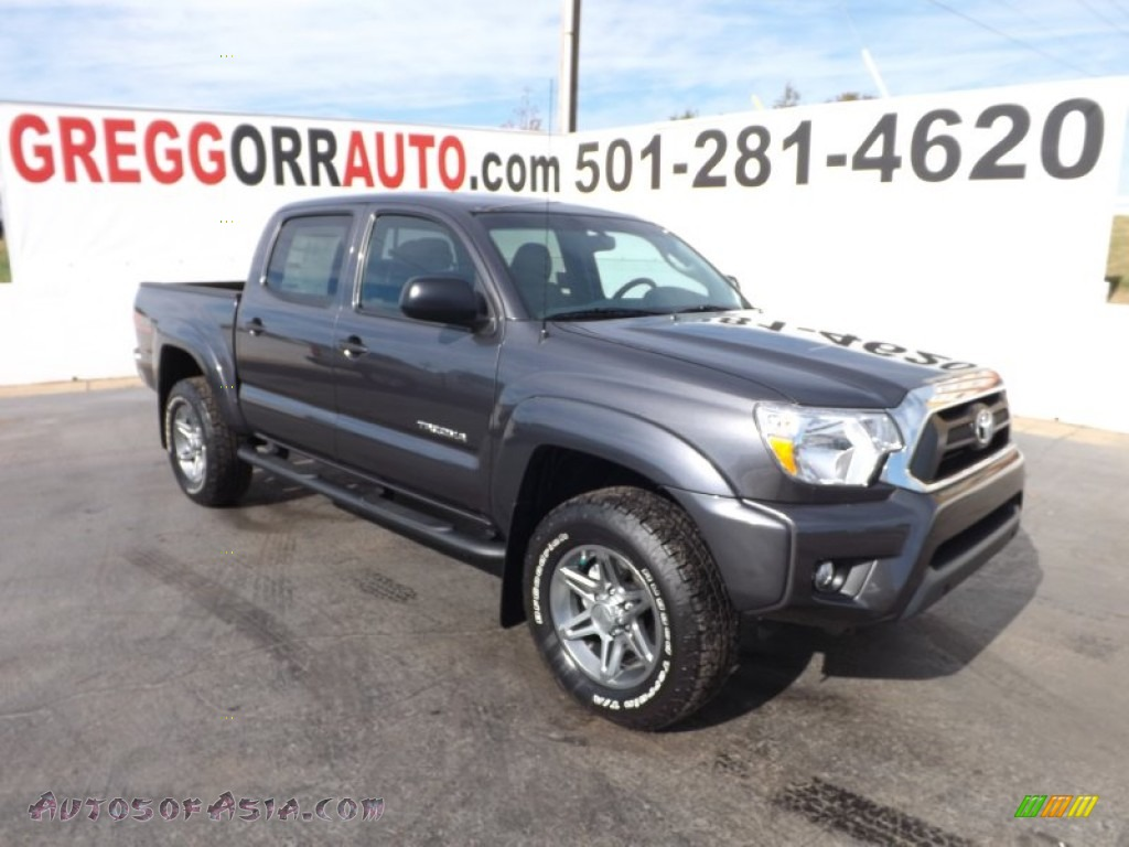 2013 Toyota Tacoma Tss Double Cab 4x4 In Magnetic Gray