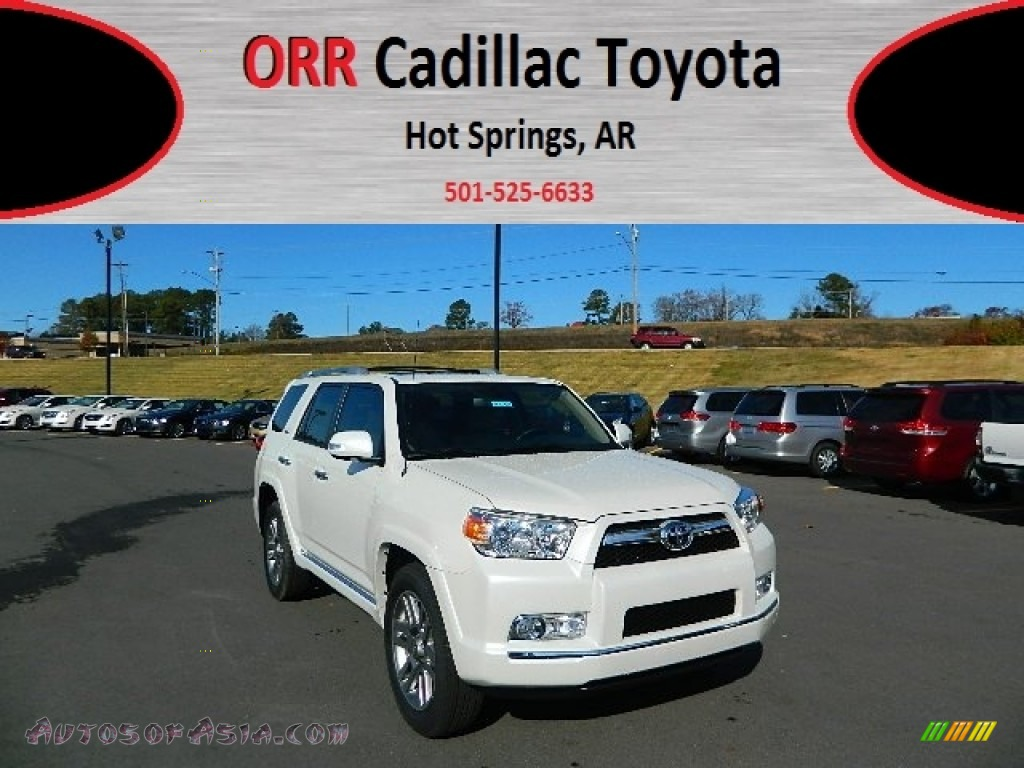 2013 toyota 4runner limited in blizzard white pearl 050017 autos of asia japanese and. Black Bedroom Furniture Sets. Home Design Ideas