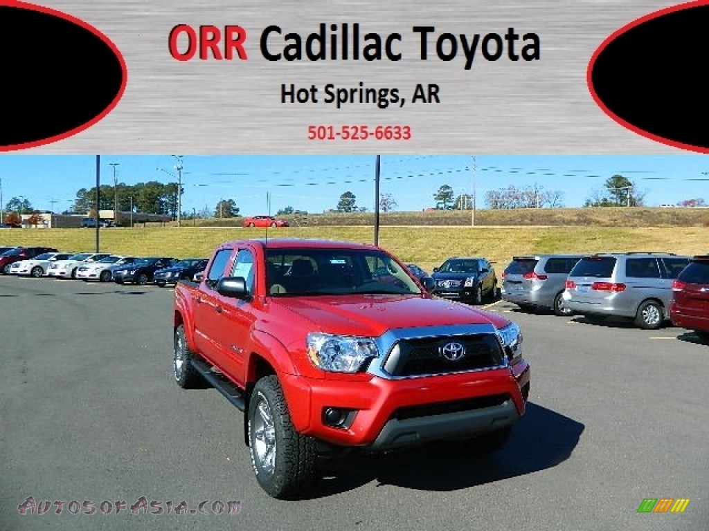 2013 toyota tacoma tss prerunner double cab in barcelona red metallic 017823 autos of asia. Black Bedroom Furniture Sets. Home Design Ideas