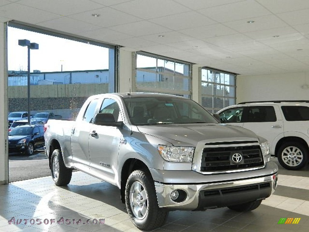 2013 toyota tundra sr5 trd double cab 4x4 in silver sky metallic 274101 autos of asia