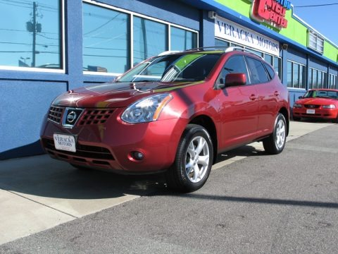 Venom Red Pearl Nissan Rogue Sl Awd For Sale Autos Of