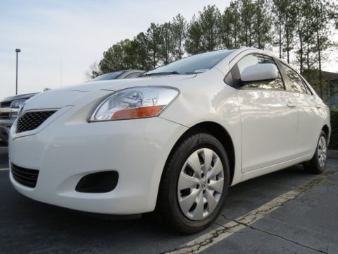 Baierl Acura on Polar White Toyota Yaris Sedan For Sale   Autos Of Asia   Japanese And