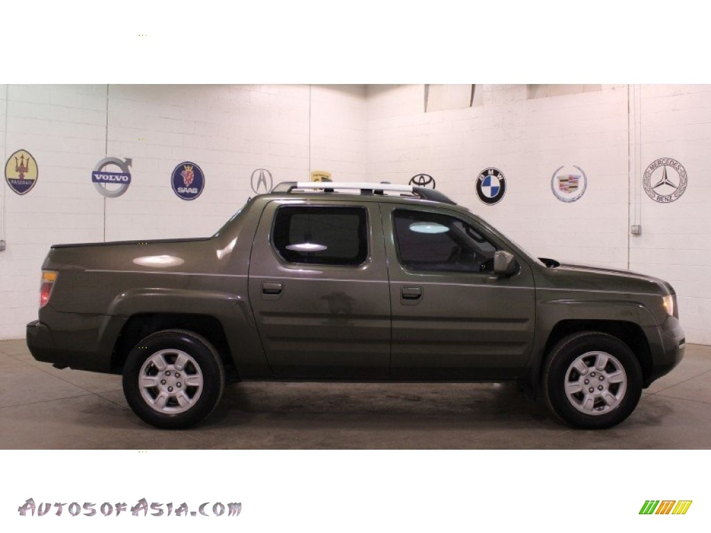 2006 Honda Ridgeline Rts In Amazon Green Metallic 522234