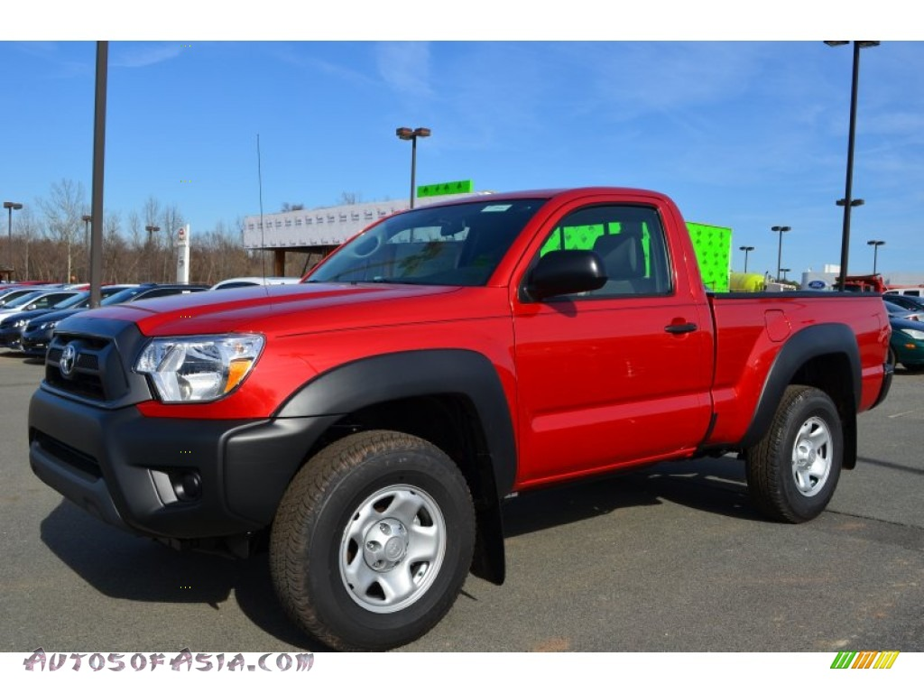 2013 toyota tacoma regular cab 4x4 in barcelona red metallic 015614 autos of asia japanese. Black Bedroom Furniture Sets. Home Design Ideas