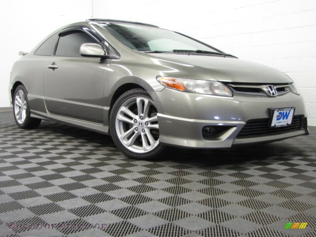 2006 Honda Civic Si Coupe In Galaxy Gray Metallic 706132