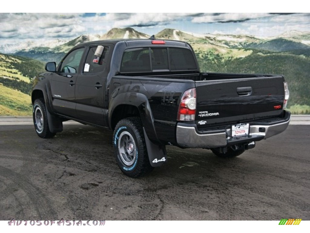 2013 toyota tacoma tx pro double cab 4x4 in black photo 2 066666 autos of asia japanese. Black Bedroom Furniture Sets. Home Design Ideas