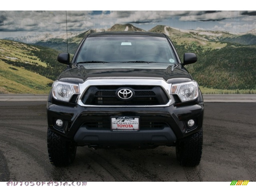 2013 toyota tacoma tx pro double cab 4x4 in black photo 3 066666 autos of asia japanese. Black Bedroom Furniture Sets. Home Design Ideas
