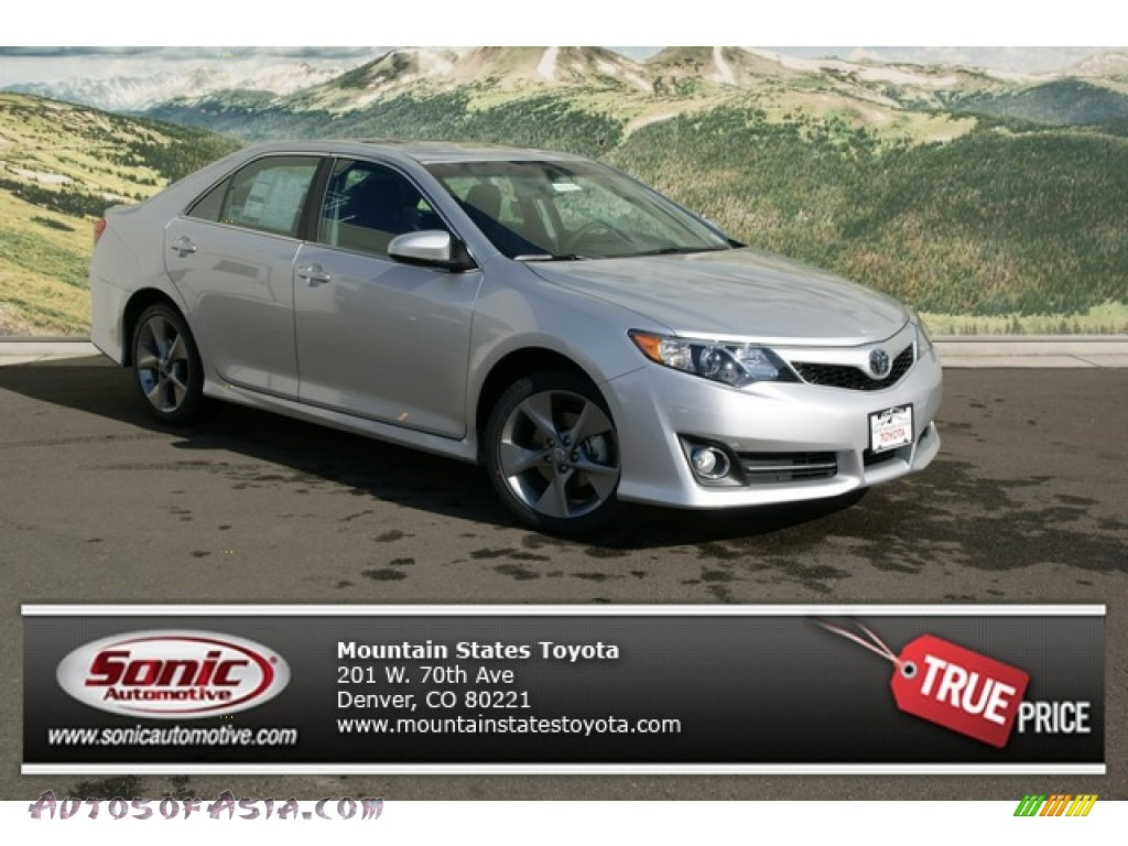 2013 toyota camry se v6 in classic silver metallic 021237 autos of asia japanese and. Black Bedroom Furniture Sets. Home Design Ideas