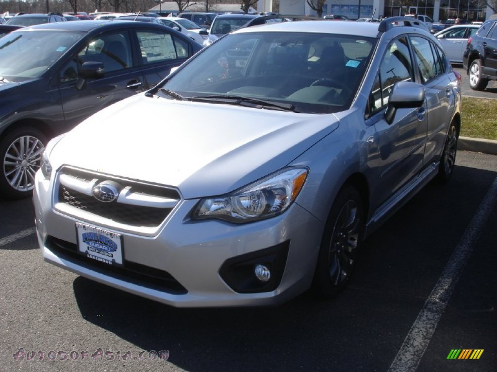 2013 subaru impreza sport premium 5 door in ice silver metallic 823903 autos of asia. Black Bedroom Furniture Sets. Home Design Ideas