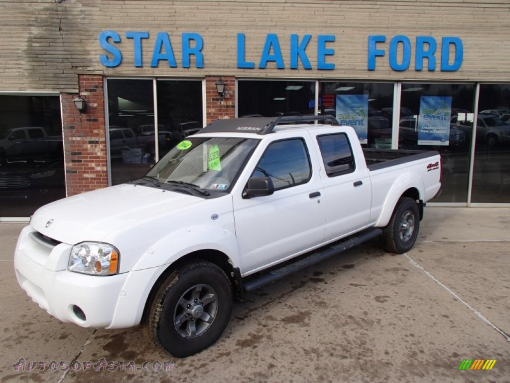2004 nissan frontier xe v6 crew cab 4x4 in avalanche white avalanche white charcoal nissan frontier xe v6 crew cab 4x4 vanachro Images