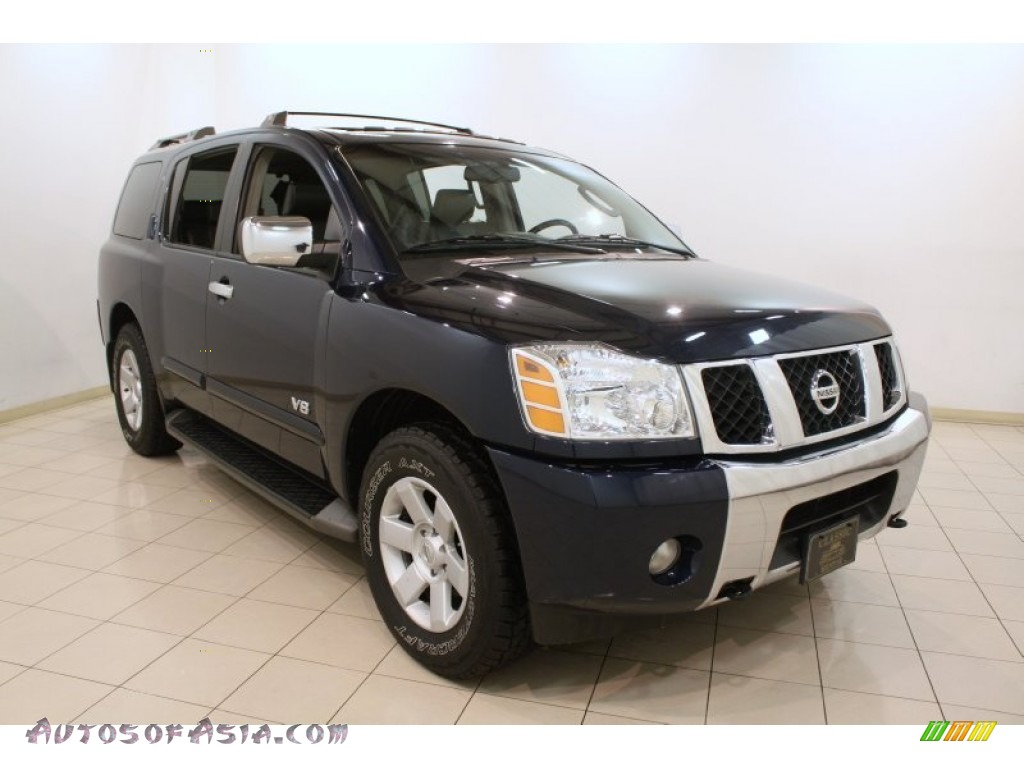 2006 nissan armada le 4x4 in majestic blue 727610 autos of asia japanese and korean cars. Black Bedroom Furniture Sets. Home Design Ideas