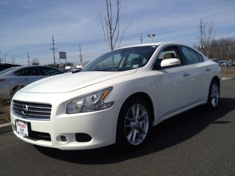 Baierl Acura on Winter Frost White Nissan Maxima 3 5 Sv For Sale   Autos Of Asia