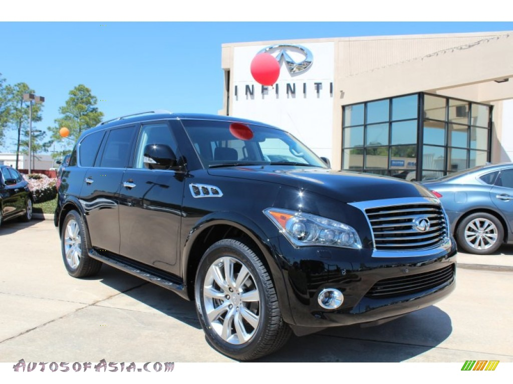 2013 infiniti qx 56 in black obsidian 750047 autos of for Steve white motors inc