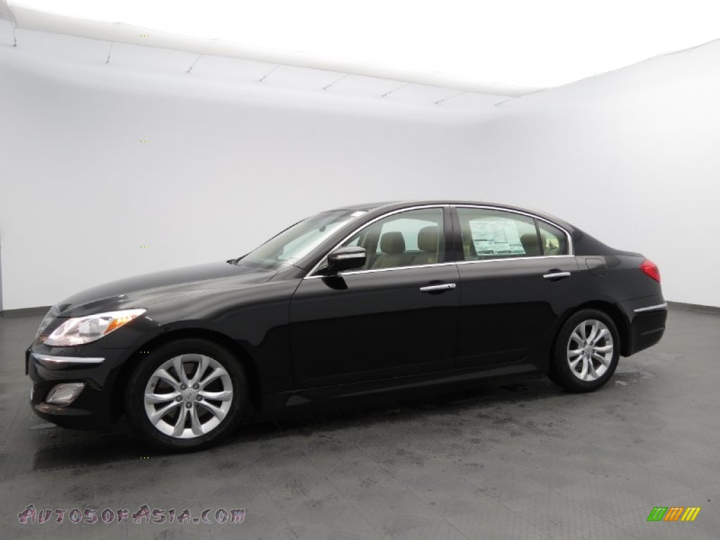 2013 Hyundai Genesis 3 8 Sedan In Black Noir Pearl