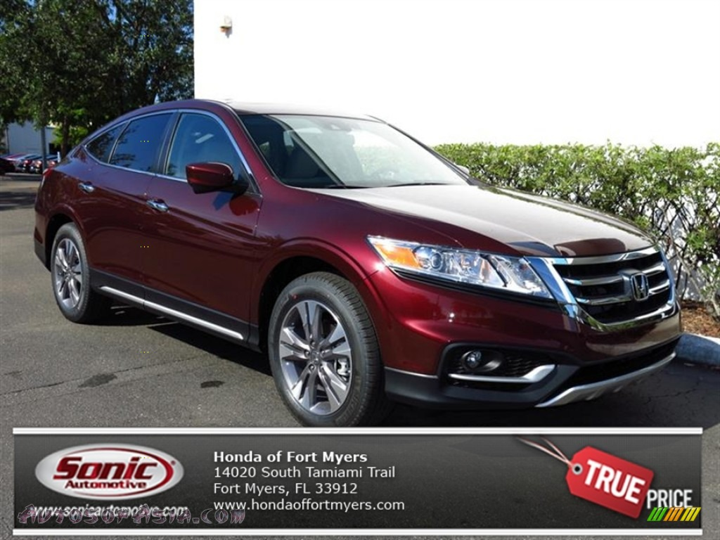 2013 honda crosstour ex l v 6 in basque red pearl ii 001838 autos of asia japanese and. Black Bedroom Furniture Sets. Home Design Ideas
