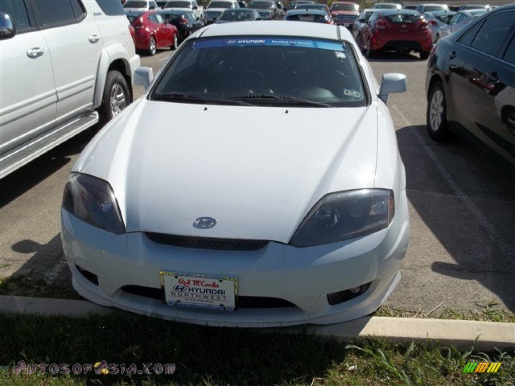 2006 hyundai tiburon gt limited in alpine white 215226 autos of asia japanese and korean. Black Bedroom Furniture Sets. Home Design Ideas