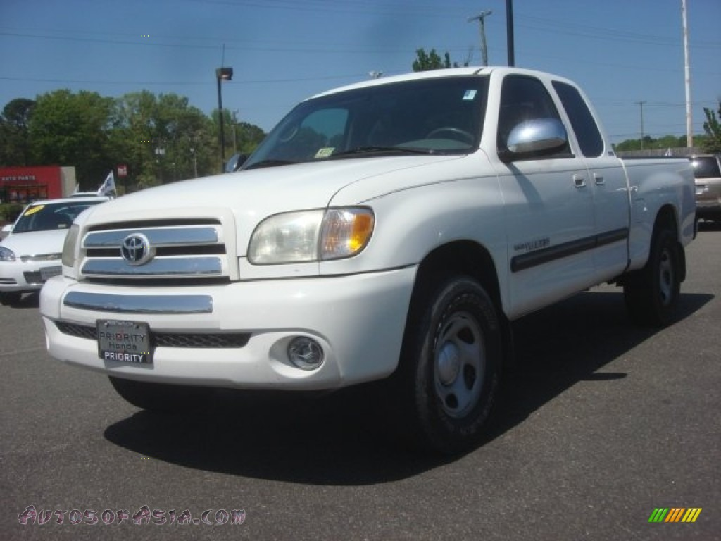 2004 toyota tundra sr5 access cab in natural white 438856 autos of asia japanese and. Black Bedroom Furniture Sets. Home Design Ideas