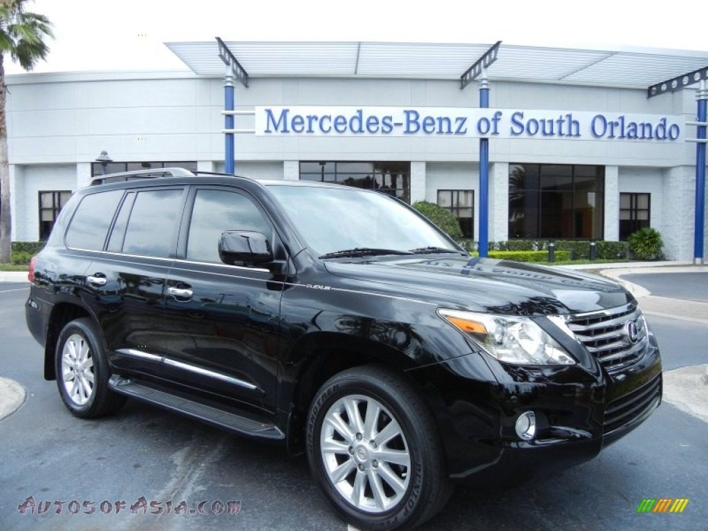 2010 lexus lx 570 in black onyx 035218 autos of asia japanese and korean cars for sale in. Black Bedroom Furniture Sets. Home Design Ideas