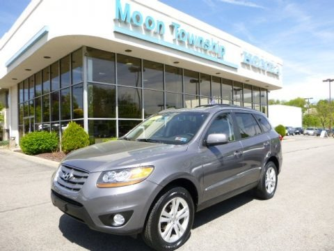Harbor Gray Metallic 2010 Hyundai Santa Fe SE 4WD