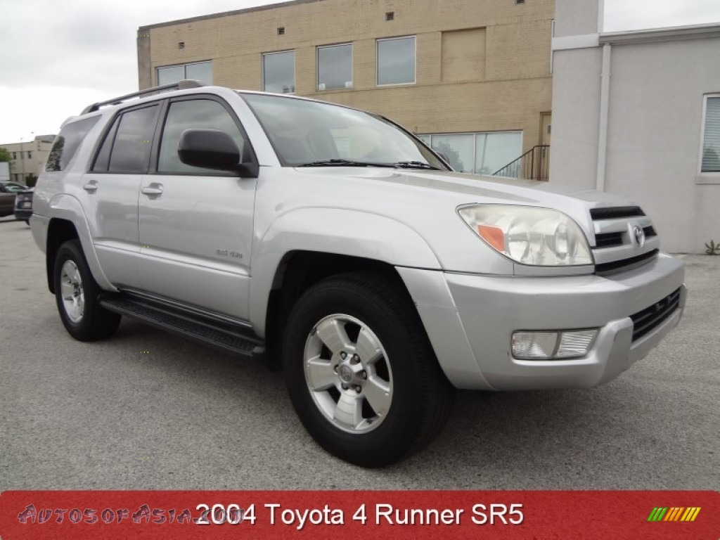 2004 toyota 4runner sr5 4x4 in titanium metallic 021065. Black Bedroom Furniture Sets. Home Design Ideas