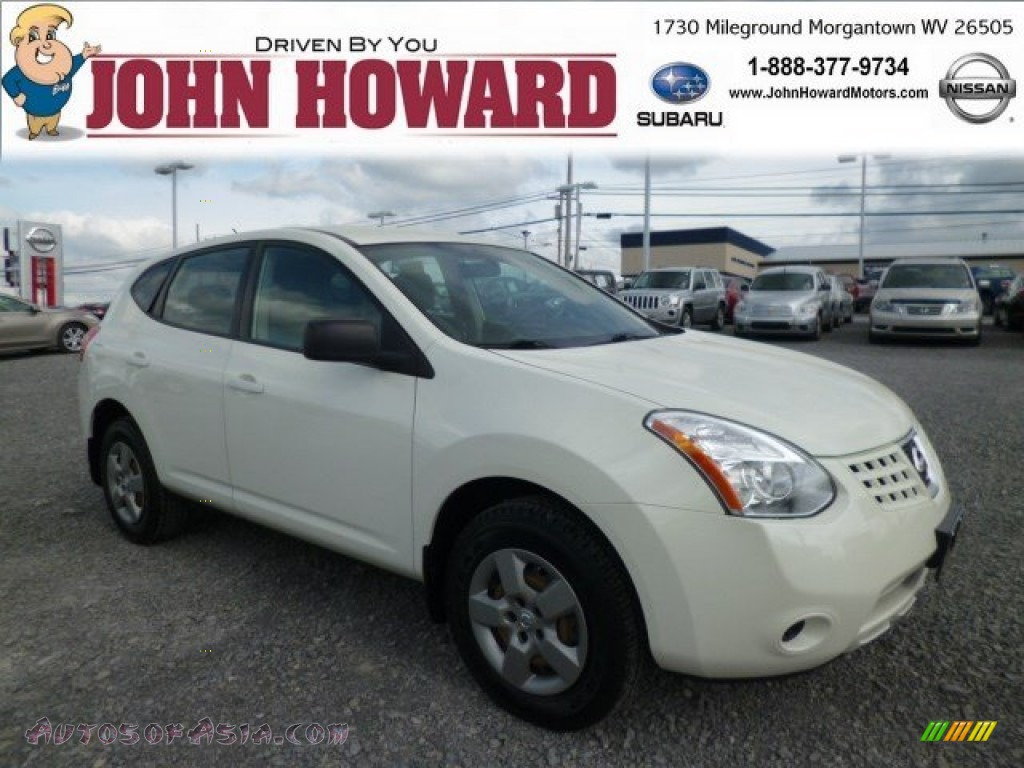 2009 nissan rogue s awd in phantom white 165244 autos for Mileground motors in morgantown wv