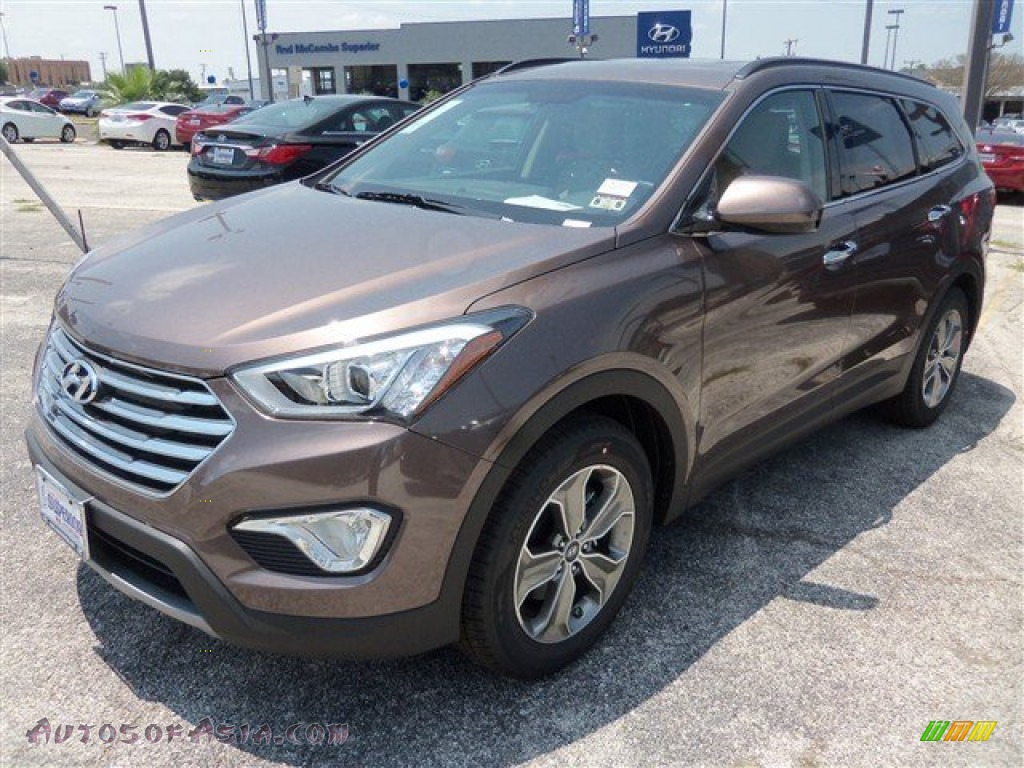 2013 hyundai santa fe gls in frosted mocha 006147 autos of asia japanese and korean cars. Black Bedroom Furniture Sets. Home Design Ideas