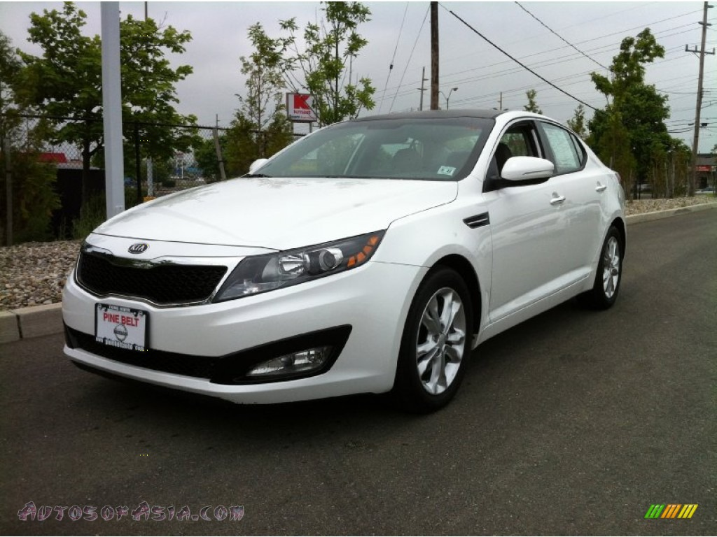 2012 kia optima ex in snow white pearl 080769 autos of asia japanese and korean cars for. Black Bedroom Furniture Sets. Home Design Ideas