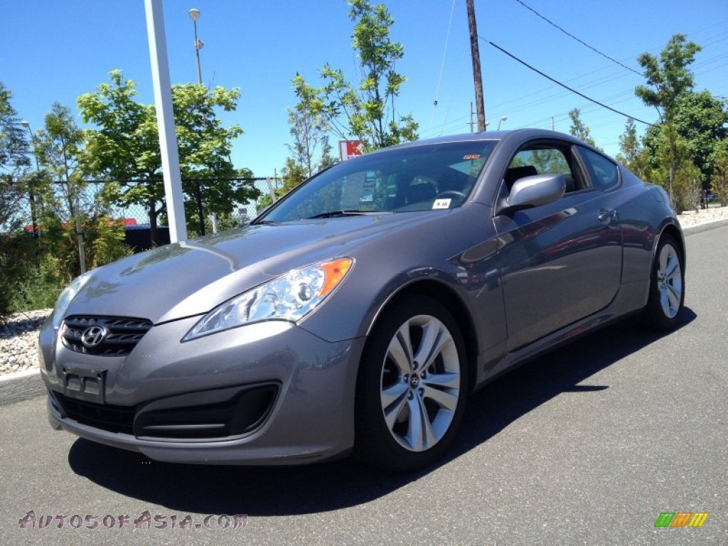 2012 hyundai genesis coupe 2 0t in nordschleife gray. Black Bedroom Furniture Sets. Home Design Ideas