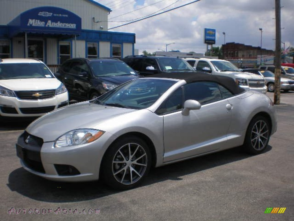 2012 mitsubishi eclipse spyder gs sport in quick silver 002047 autos of asia japanese and. Black Bedroom Furniture Sets. Home Design Ideas