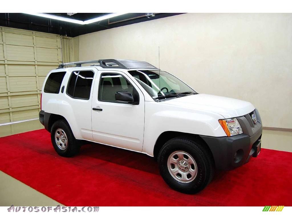 2008 nissan xterra x in avalanche white 506388 autos of asia japanese and korean cars for. Black Bedroom Furniture Sets. Home Design Ideas