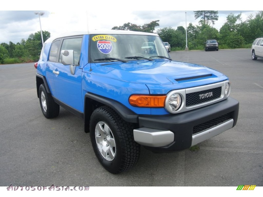 Used Cars For Sale In Houston Tx John Eagle Acura: 2007 Toyota FJ Cruiser In Voodoo Blue - 009613